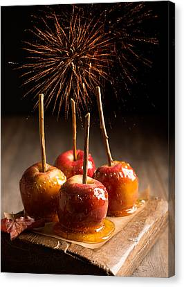 Toffee Apples Group Canvas Print by Amanda Elwell