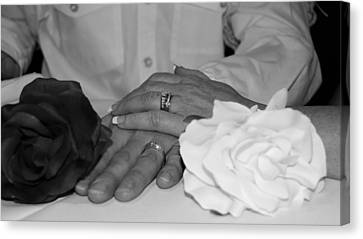 Together Forever Canvas Print by Davandra Cribbie