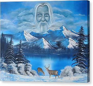 Together In Colorado Canvas Print