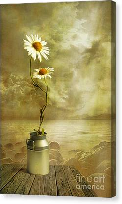 Flower Art Canvas Print - Together by Veikko Suikkanen