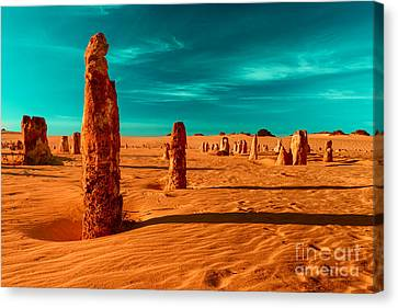 Together We Stand Canvas Print by Julian Cook