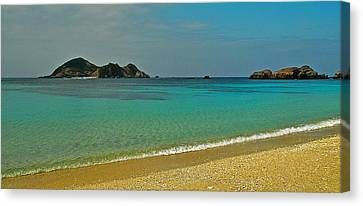 Aharen Beach, Tokashiki-jima, Okinawa Canvas Print