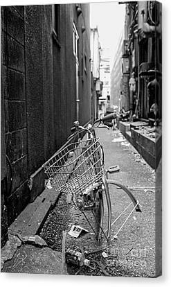 Tokyo Unicycle Canvas Print