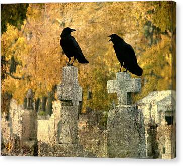 Told You So Canvas Print by Gothicrow Images