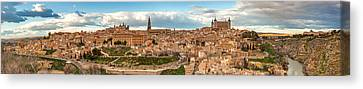 Toledo Panorama Canvas Print by Jennifer Grover
