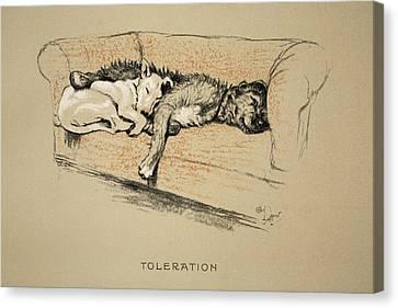 Toleration, 1930, 1st Edition Canvas Print