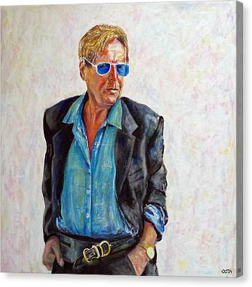 Toller Cranston 2015 Canvas Print by Andrew Osta