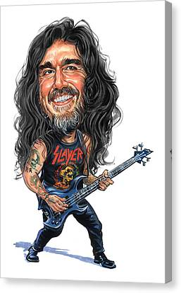 Tom Araya Canvas Print