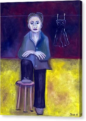 Tom Boy Canvas Print by Jennifer Taylor