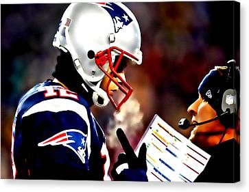 Go For The Big One Canvas Print by Brian Reaves