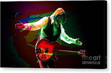 Heartbreaker Canvas Print - Tom Petty by Marvin Blaine