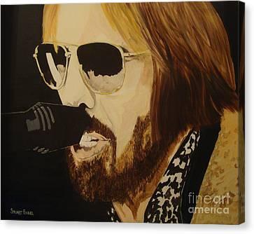 Tom Petty Canvas Print by Stuart Engel