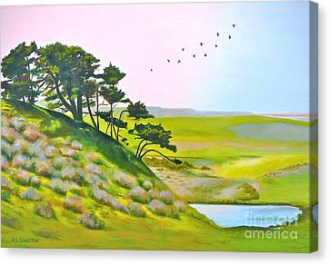 Tomales California Canvas Print