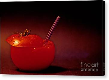 Tomato Juice Canvas Print by Sharon Elliott