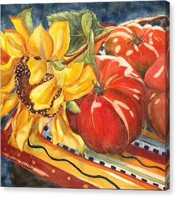 Tomatoes II Canvas Print