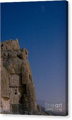 Xerxes Canvas Print - Tomb Of Xerxes by Babak Tafreshi
