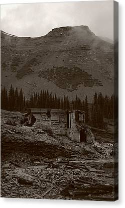 Tomboy Ghost Town I Canvas Print by Daniel Woodrum