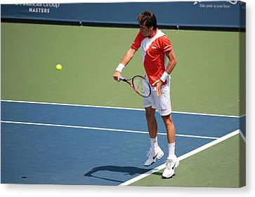 Tommy Haas  Canvas Print by James Marvin Phelps