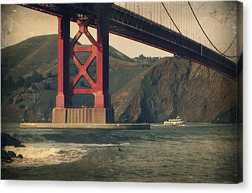 San Francisco California Canvas Print - Tomorrow Will Still Be The Same by Laurie Search