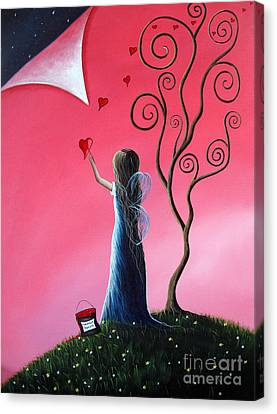 Tomorrow's Promises Are A Dream Away By Shawna Erback Canvas Print by Shawna Erback
