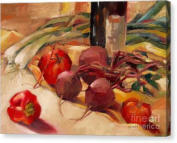 Tom's Bounty Canvas Print by Michelle Abrams