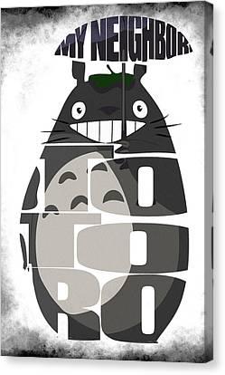 Tonari No Totoro - My Neighbor Totoro Canvas Print