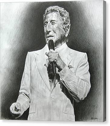 Tony Bennett Canvas Print