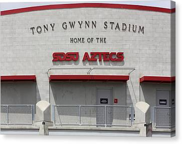 Tony Gwynn Stadium Sdsu Canvas Print by Photographic Art by Russel Ray Photos