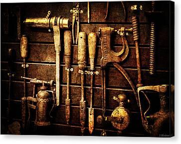Tools Of The Trade Canvas Print by Jordan Blackstone