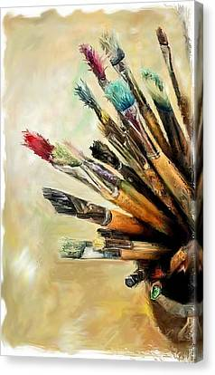 Tools Of The Trade... Canvas Print by Mark Tonelli