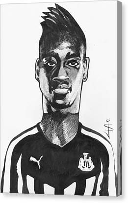 Toon Canvas Print - Toon Caricature - Sammy Ameobi - Forward by Jan Szymczuk