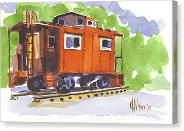 Toot Toot Canvas Print