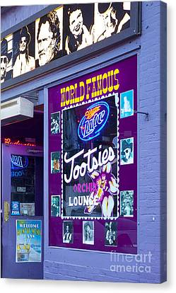 Tootsies Nashville Canvas Print by Brian Jannsen