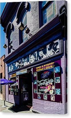 Tootsies Nashville Tennessee Canvas Print