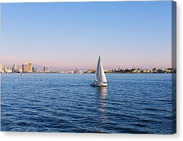 Top Destination San Diego Canvas Print by Christine Till