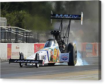 Top Fuel Dragster Canvas Print by Gianfranco Weiss