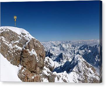 Top Of Germany  Canvas Print