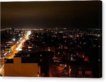 Top Of Kingston Series 002 Canvas Print by Paul Wash