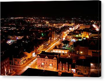 Top Of Kingston Series 003 Canvas Print by Paul Wash
