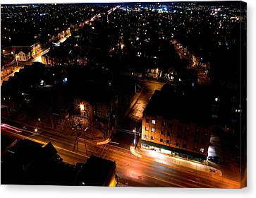Top Of Kingston Series 005 Canvas Print by Paul Wash