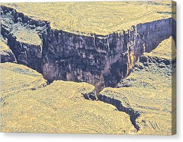 Forming Stones Canvas Print - Above The Canyon Top   by Jim Ellis
