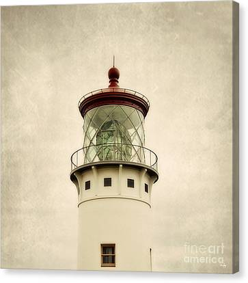 Top Of The Lighthouse Canvas Print by Scott Pellegrin