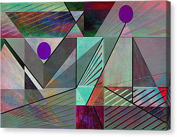 Top Of The Pyramid Canvas Print by Linda Dunn