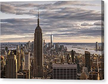 Top Of The Roc Canvas Print by Anthony Fields