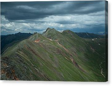 Canvas Print featuring the photograph Top Of The World by Jay Stockhaus
