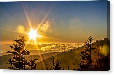 Top Of The World Canvas Print by Rob Sellers