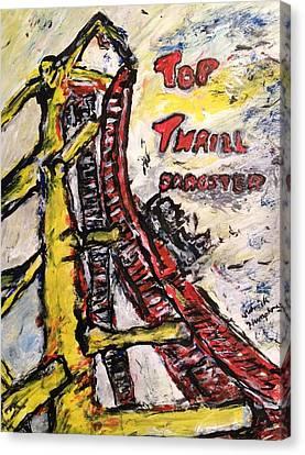 Top Thrill Dragstar Canvas Print by Patrick Humphreys