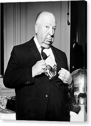 Films By Alfred Hitchcock Canvas Print - Topaz, Director Alfred Hitchcock by Everett