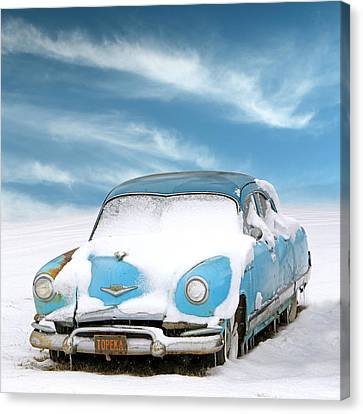 Topeka Blues Canvas Print by Christopher McKenzie
