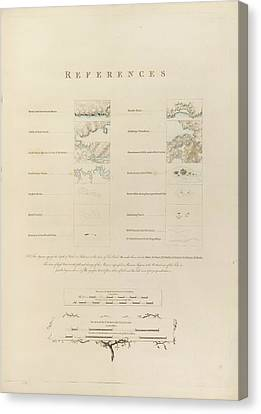 Topographical Features Canvas Print by British Library